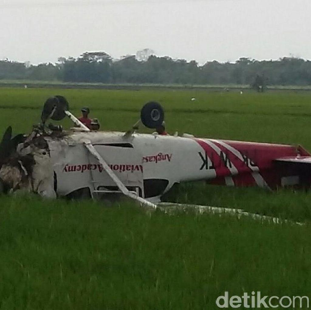 2 Kru Pesawat Latih yang Jatuh di Cirebon Selamat, Alami Luka Ringan