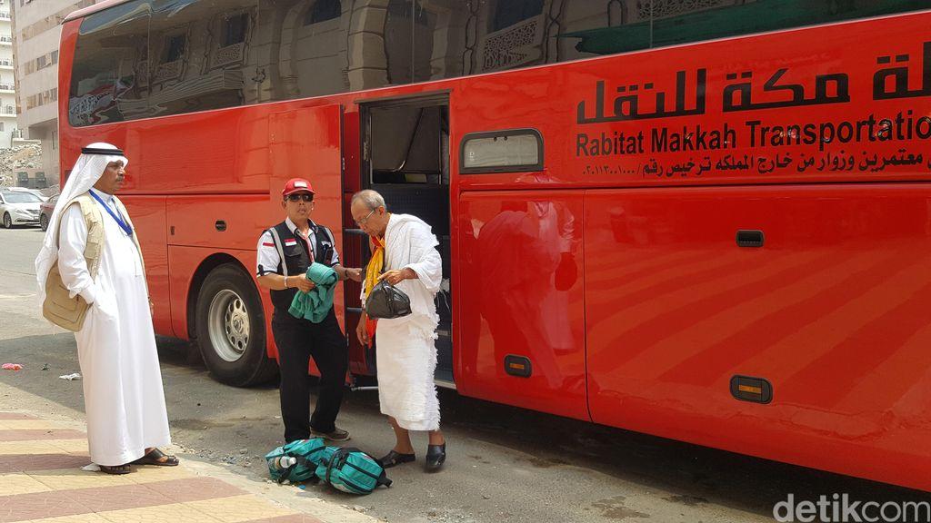 Cerita Jemaah Usai Naik Bus Upgrade dari Jeddah ke Makkah