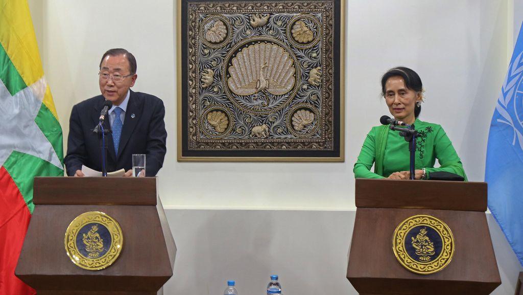 Sekjen PBB Serukan Warga Rohingya Diberi Status Warga Negara Myanmar
