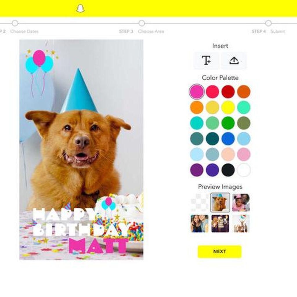 Pengguna Snapchat Kini Bisa Bikin Gambar Sendiri