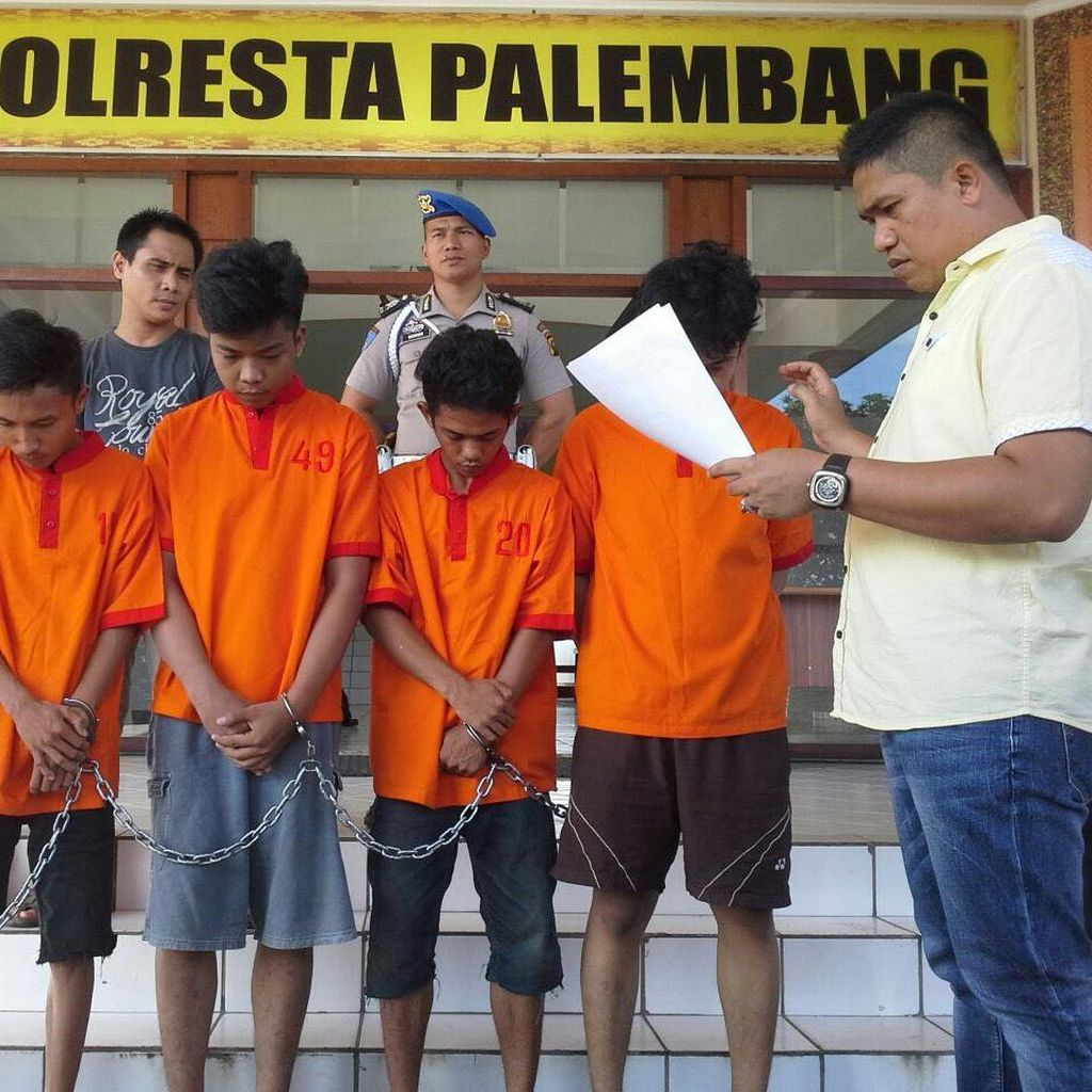 Keji! Lima Pemuda di Palembang Perkosa Seorang Siswi SMA