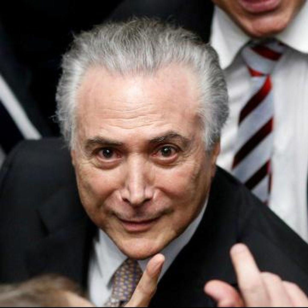 Michel Temer Dilantik sebagai Presiden Brasil Setelah Rousseff Dimakzulkan