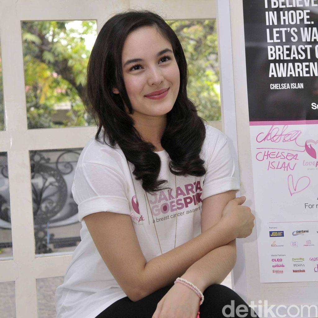 Chelsea Islan Berharap Film Pinky Promise Diputar Setiap Peringatan Hari Kanker
