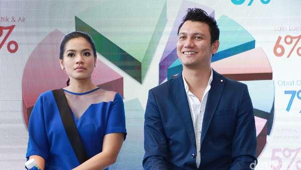 Kompaknya Titi Kamal dan Christian Sugiono