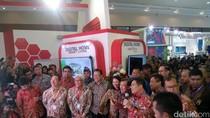 Kunjungi Booth IBD Expo, Rini Jadi Rebutan Bos-bos BUMN