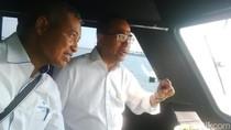 Menhub Kunjungi Pelabuhan Tanjung Perak, Minta Dwell Time Dipersingkat