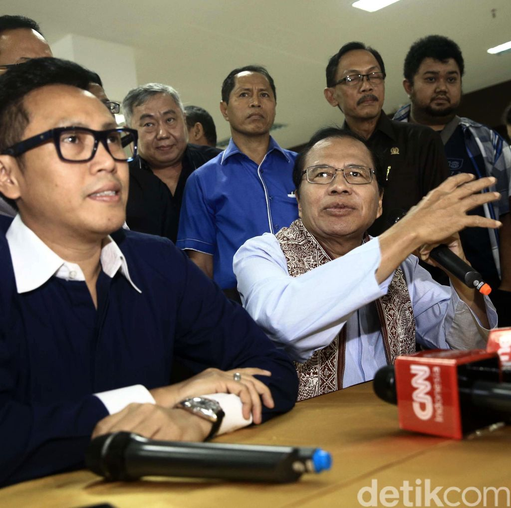 Eko Patrio: Pak SBY Kaget 4 Parpol Ajukan Nama Agus, Bu Ani Sedih