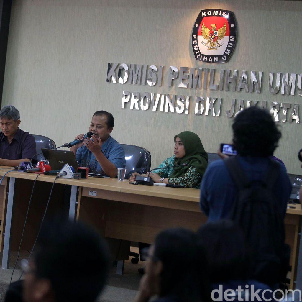 KPU DKI Gelar Rapat Pleno Hasil Verifikasi Syarat dan Tes Kesehatan