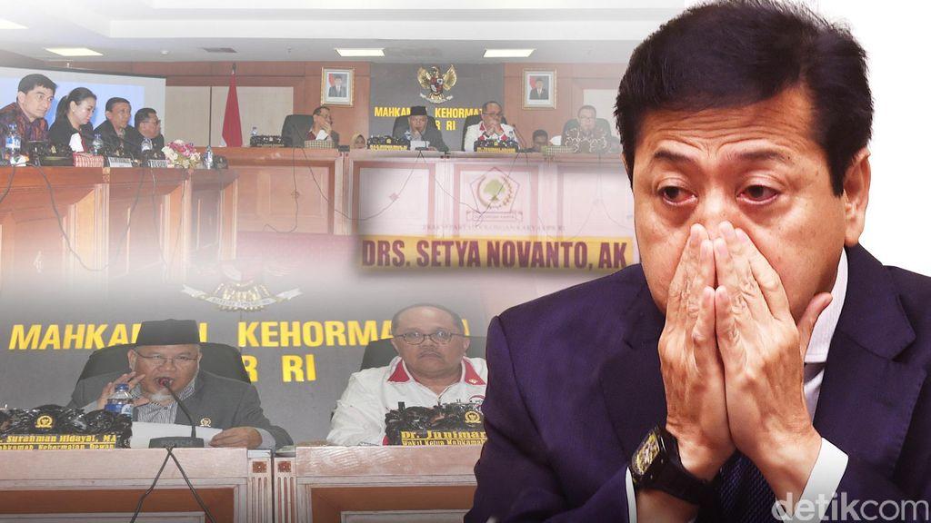Kasus 'Papa Minta Saham', MKD DPR Pulihkan Nama Baik Setya Novanto