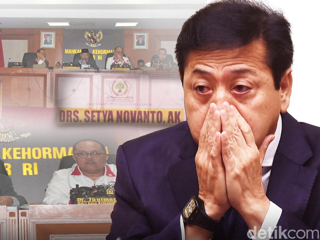 MKD DPR Pulihkan Nama Baik Setya Novanto