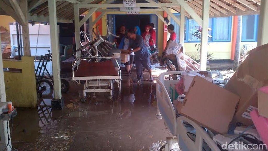 RSUD Garut Terdampak Banjir Bandang, Pelayanan Lumpuh Total