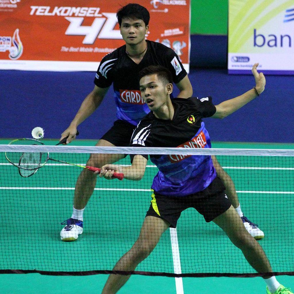 Jabar vs Jateng di Final Bulutangkis Beregu Putra