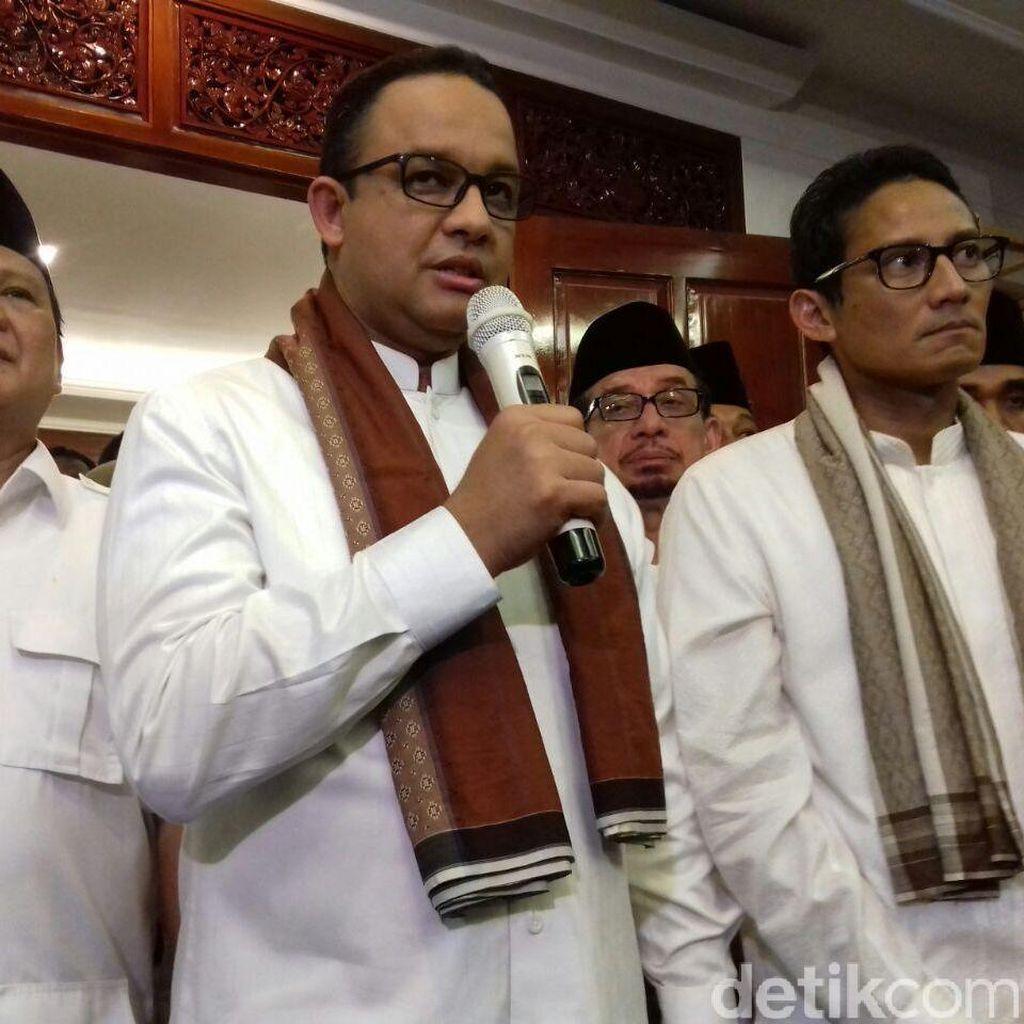 Ini Isi Kontrak Politik Gerindra dengan Anies-Sandiaga Uno