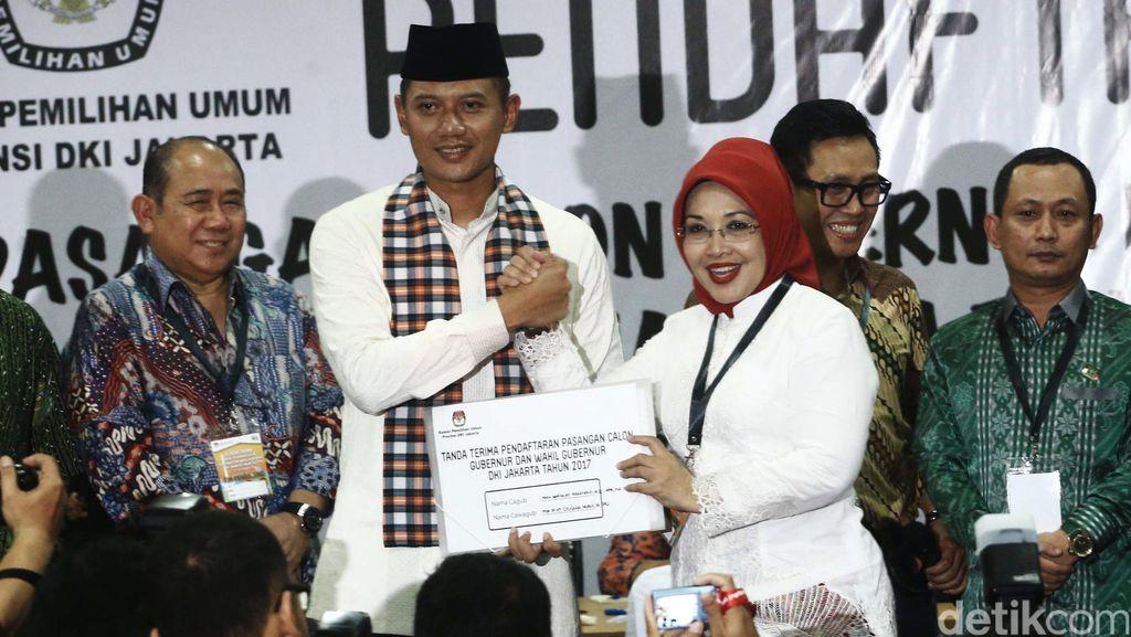 Kubu Agus-Sylvi Klaim Kantongi Dukungan NU dan Muhammadiyah