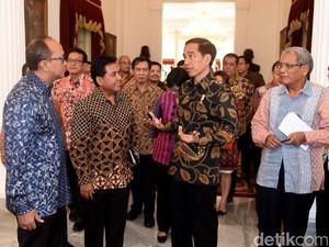 Jokowi Bahas Perkembangan Ekonomi Terkini