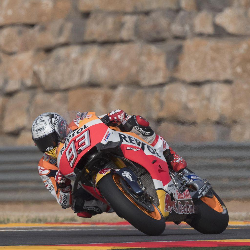Tentang Pole Marquez dan Rider-Rider di Tiga Baris Start Terdepan Aragon
