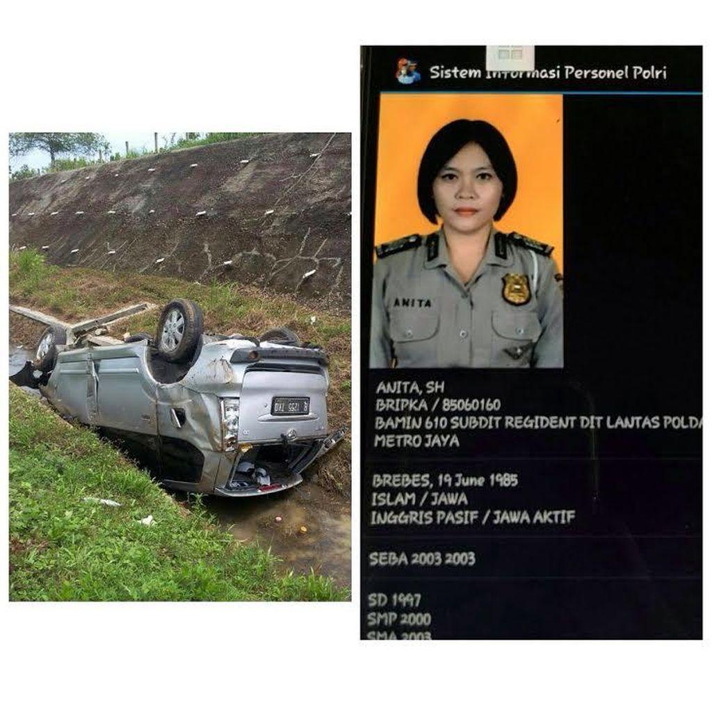 Tentang Sosok Bripka Anita yang Meninggal karena Kecelakaan di Tol Cipali