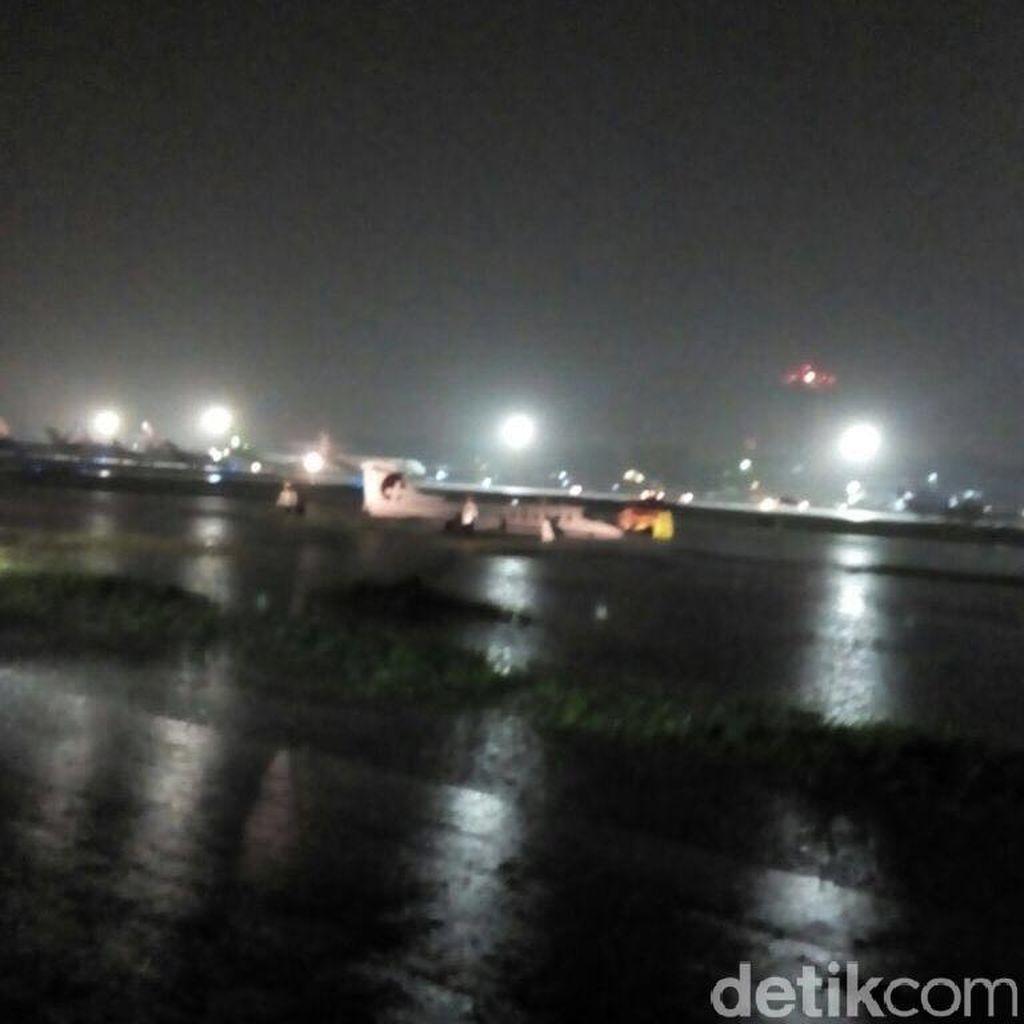 Meski Ada Pesawat Tergelincir, Runway Bandara Halim Sudah Bisa Dioperasikan