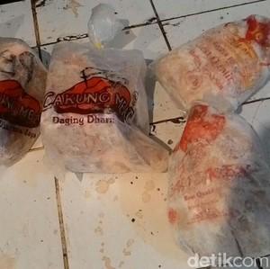 Di Pasar Ini Daging Sapi Beku Dijual Rp 89.000/Kg