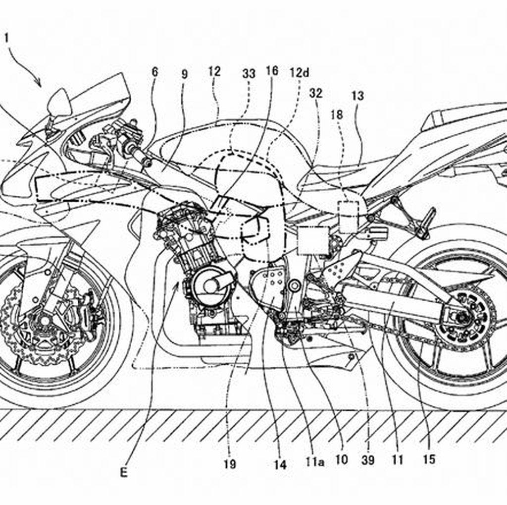 Kawasaki Siapkan Motor Sport 600 cc Supercharged