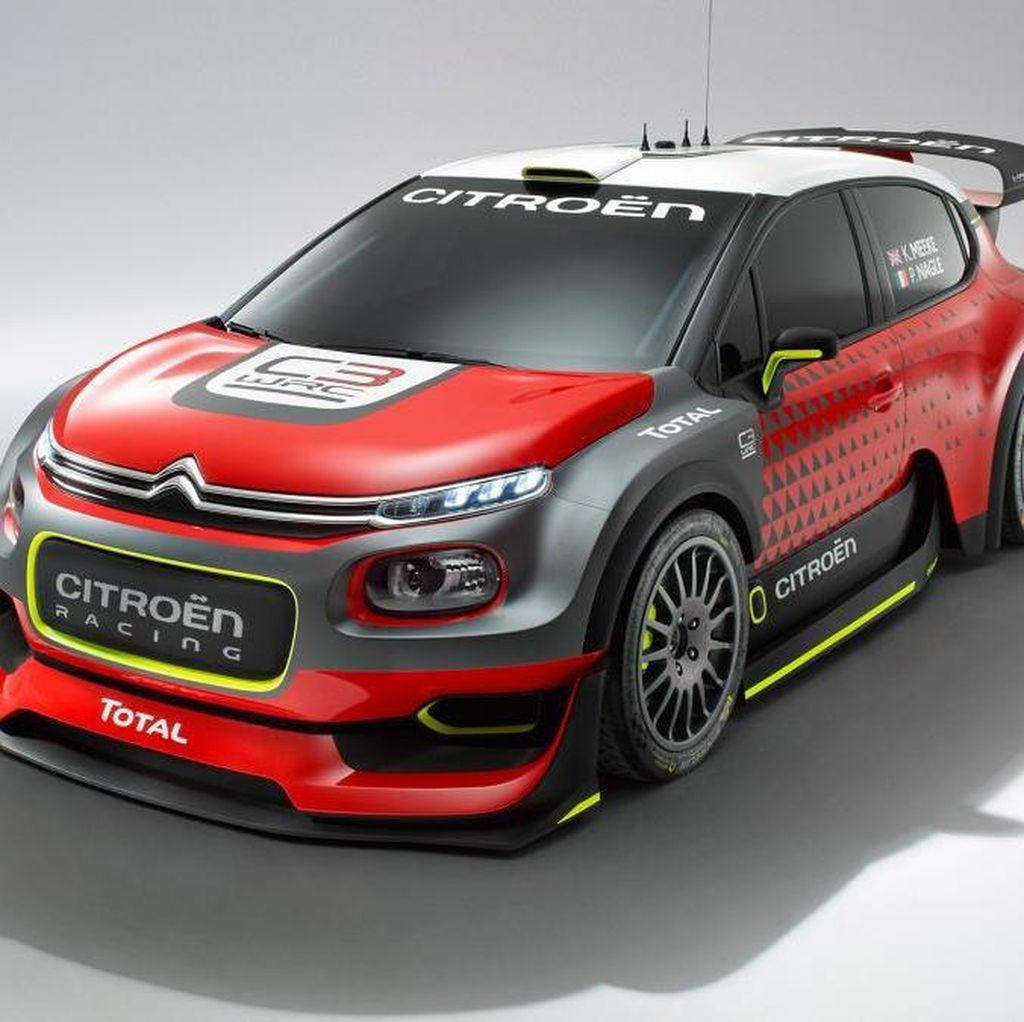 Mobil Reli Citroen di WRC 2017