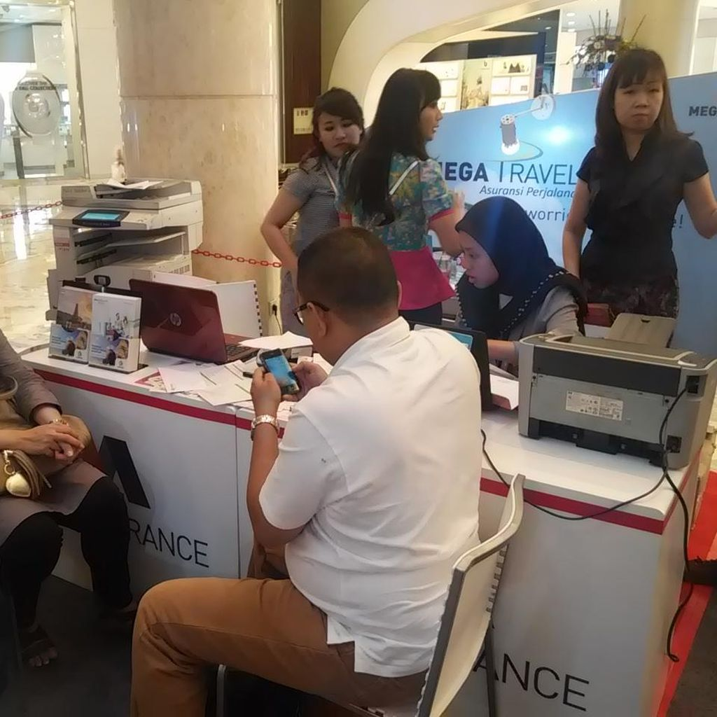 Asyik, Ada Diskon Asuransi Perjalanan Hingga 30% di Mega Travel Fair 2016