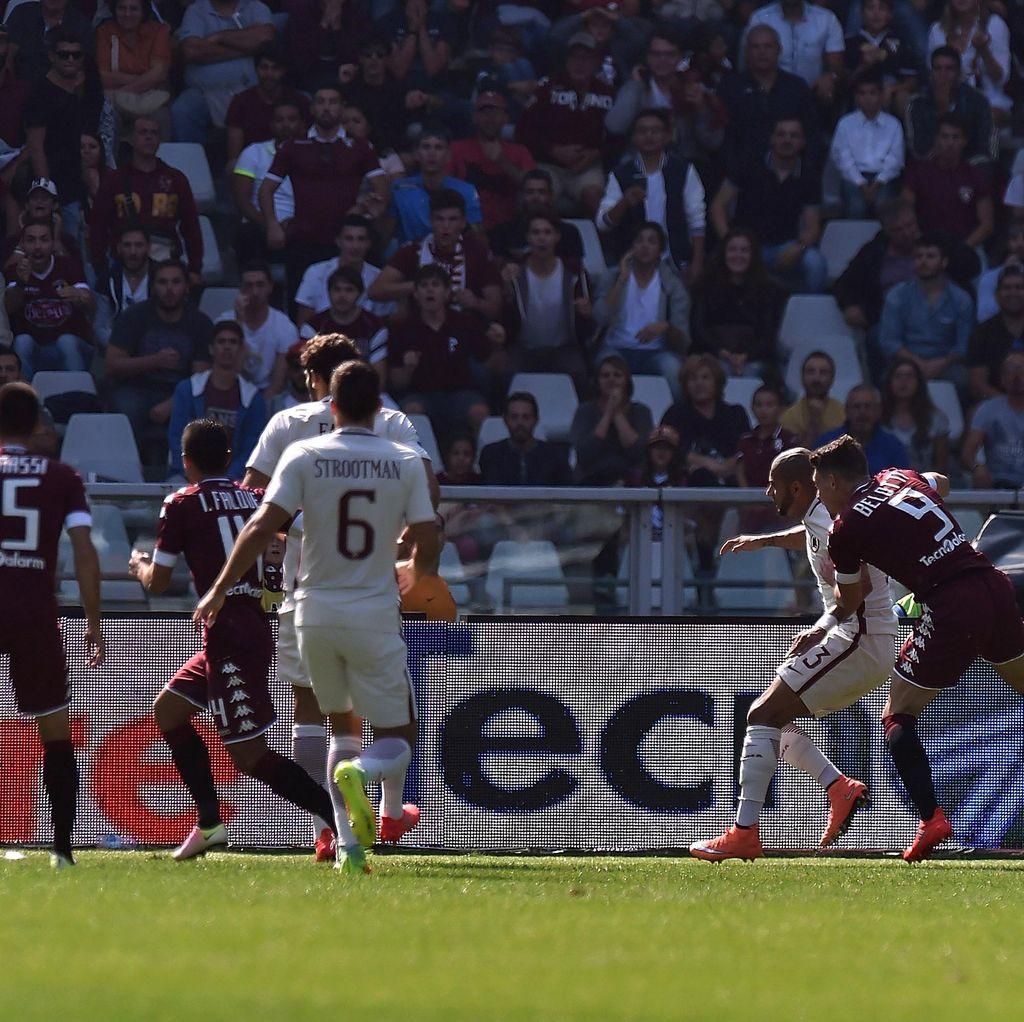 Torino Ungguli Roma 1-0 Saat Half Time