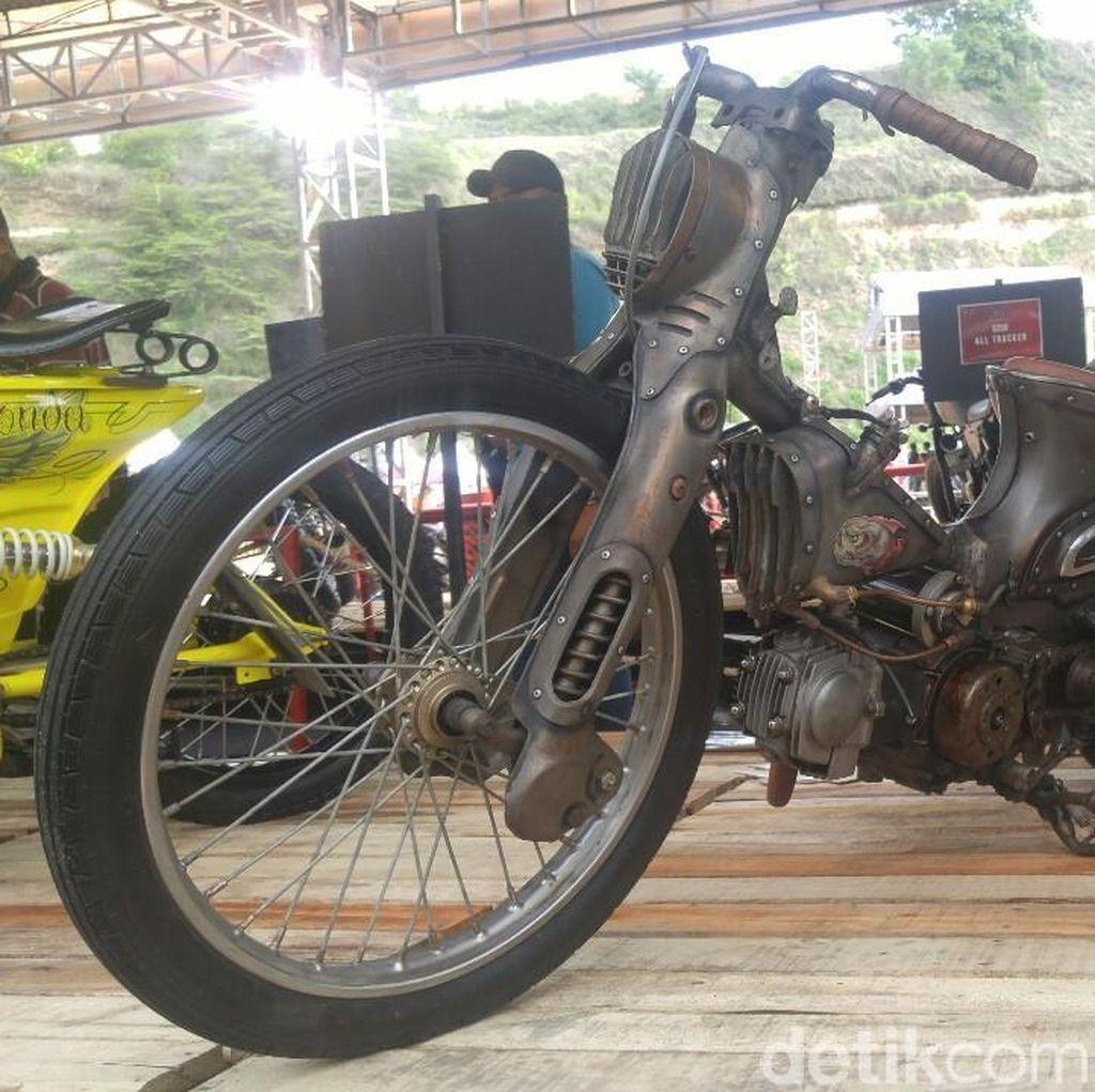 Custom Motor Steampunk ala Semarang