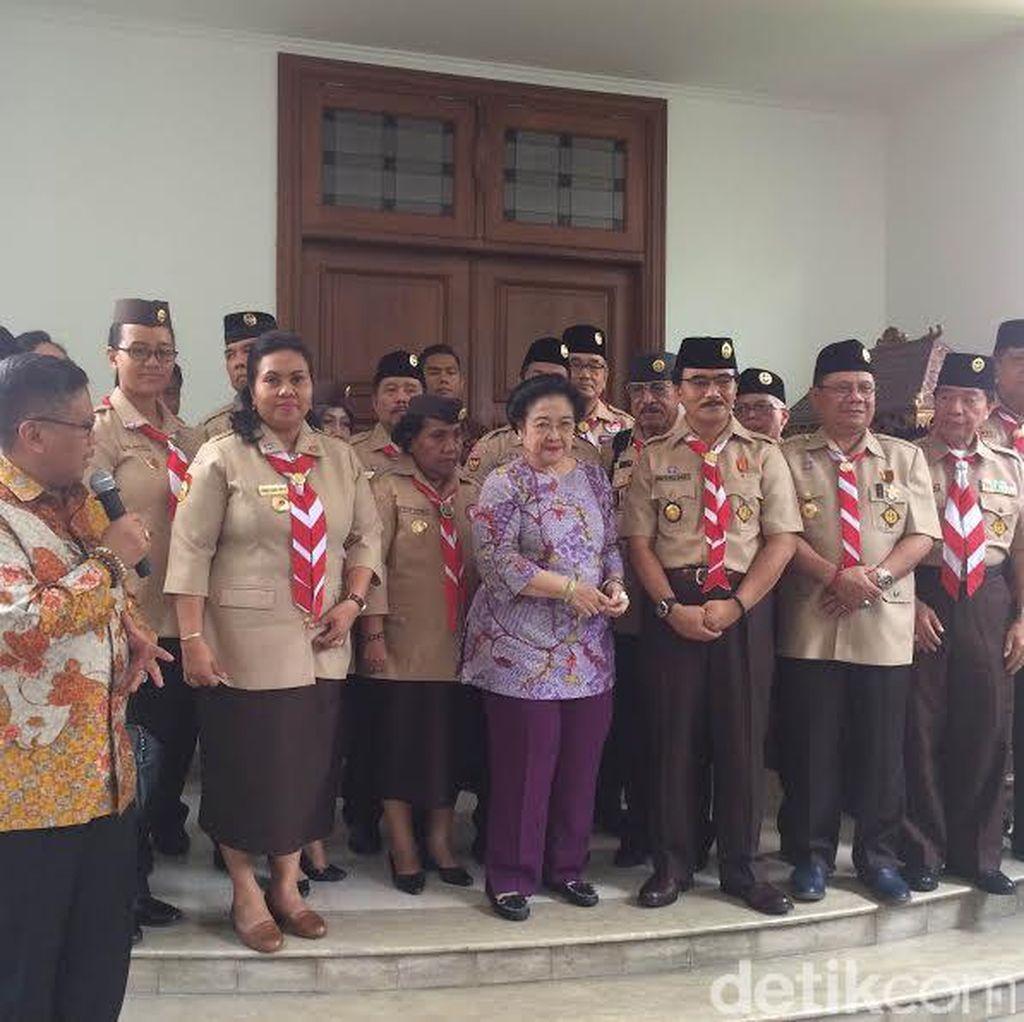 Adhyaksa Dkk Temui Megawati, Minta Dukungan Revisi UU Pramuka