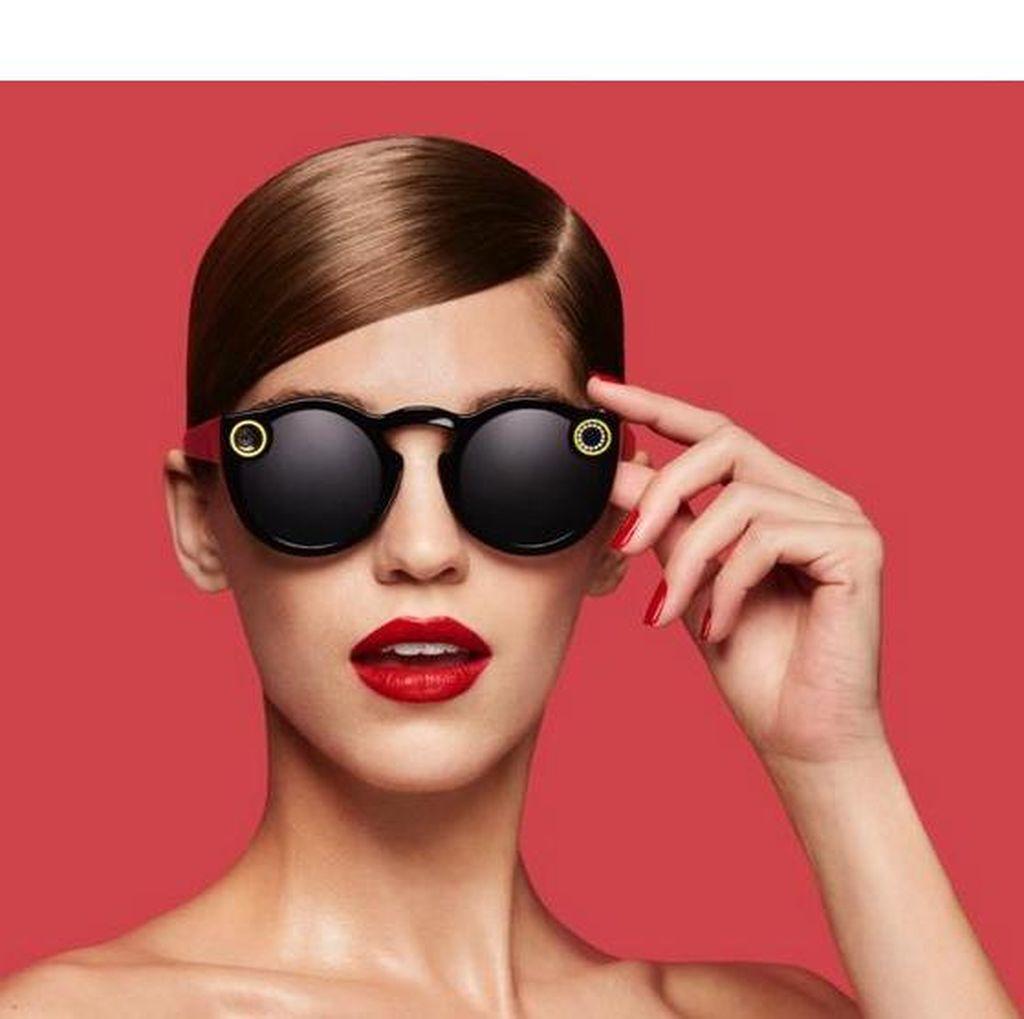 Generasi Kekinian Kepincut Kacamata Pintar Snapchat