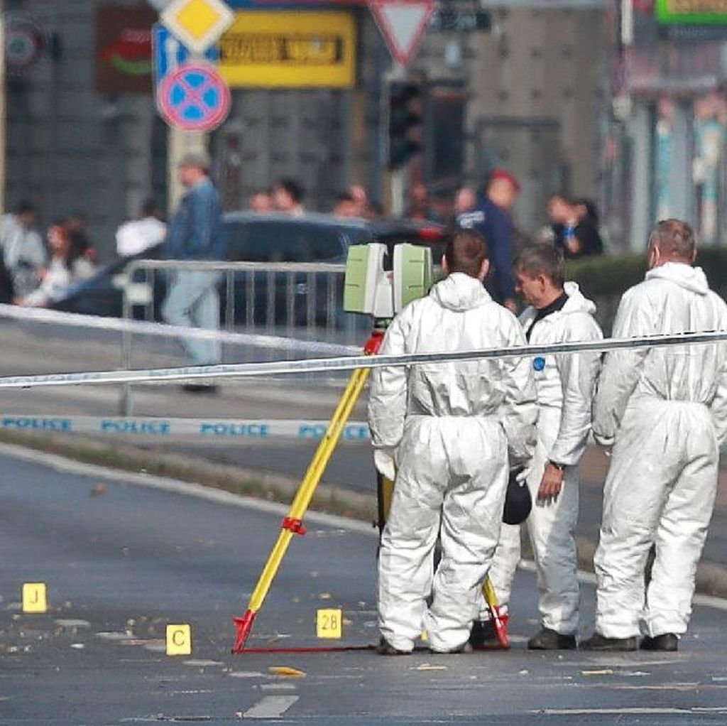 Terjadi Ledakan Bom di Ibu Kota Hungaria, 2 Polisi Terluka Parah