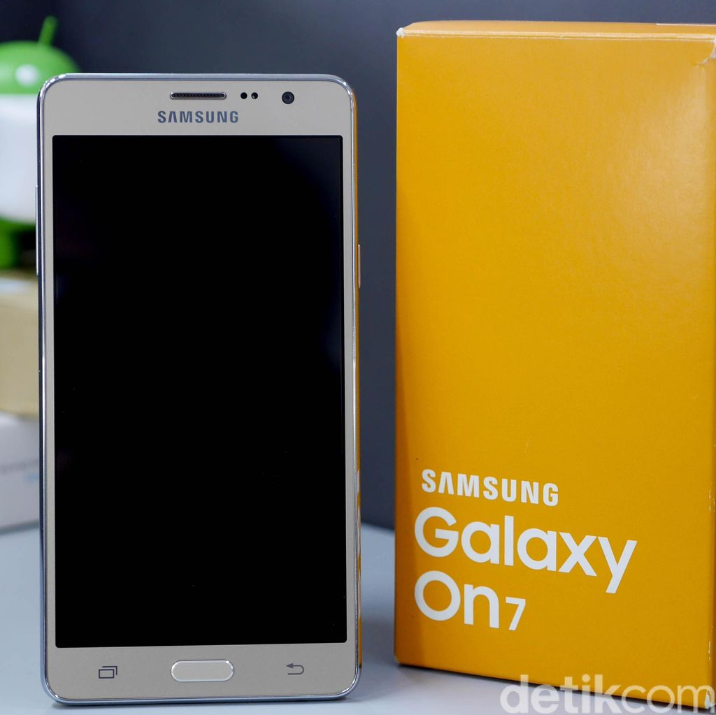 Unboxing Samsung Galaxy On7