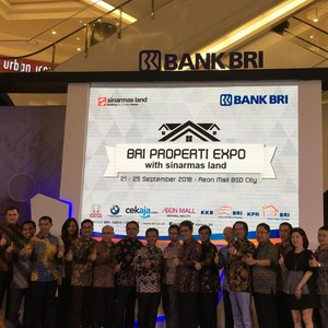 BRI dan Sinarmas Gelar Sinarmas Land Expo