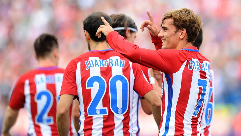 Gol Tunggal Griezmann Bawa Atletico Tundukkan Deportivo