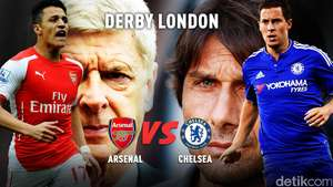 Arsenal Perkasa di Derby London