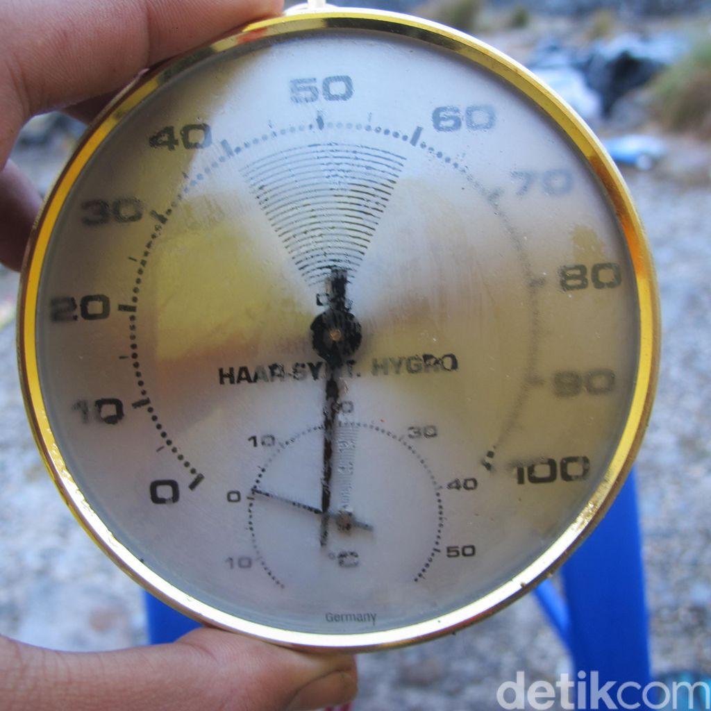 Merasakan Suhu 1 Derajat Papua