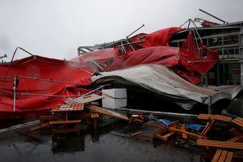 Begini Dampak Kerusakan Topan di Taiwan