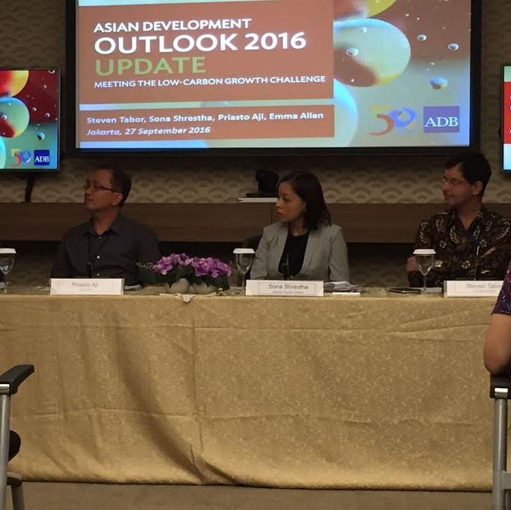 Proyeksi ADB: di Tengah Situasi Sulit, Ekonomi RI Tetap Tumbuh Tahun Ini
