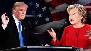 Debat Hillary Vs Trump