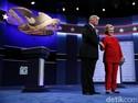 Donald Trump, Debat Capres dan Jatuhnya Pasar Saham AS