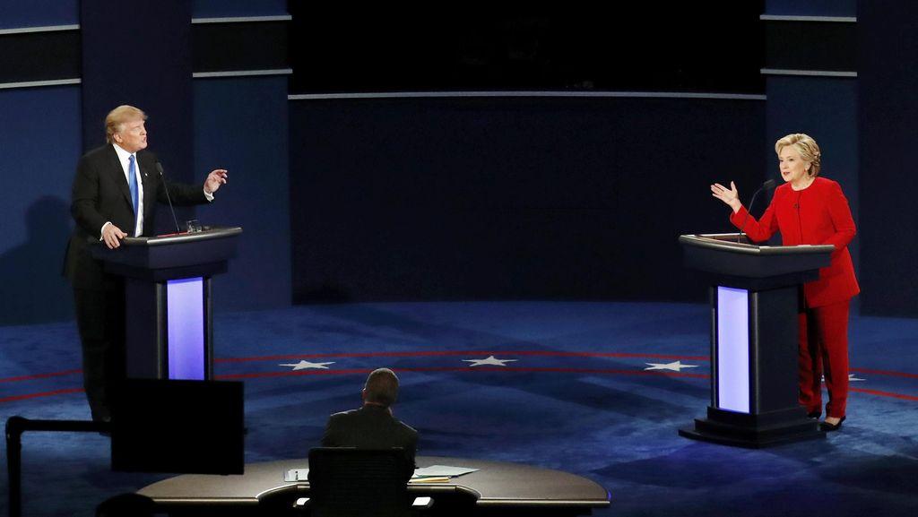Usai Debat Capres AS, Hillary Clinton Mencuat di Pasar Taruhan Online