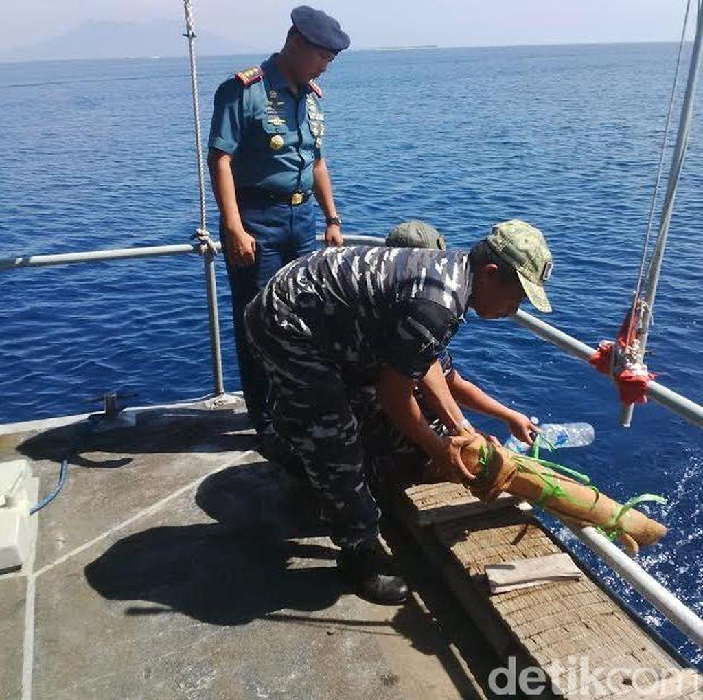 Empat Amunisi PD ke-2 Ditenggelamkan Lanal Banyuwangi