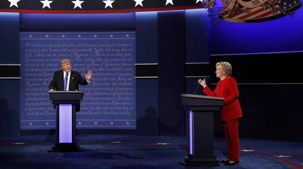 Polling: Hillary Kalahkan Trump dalam Debat Capres AS Pertama