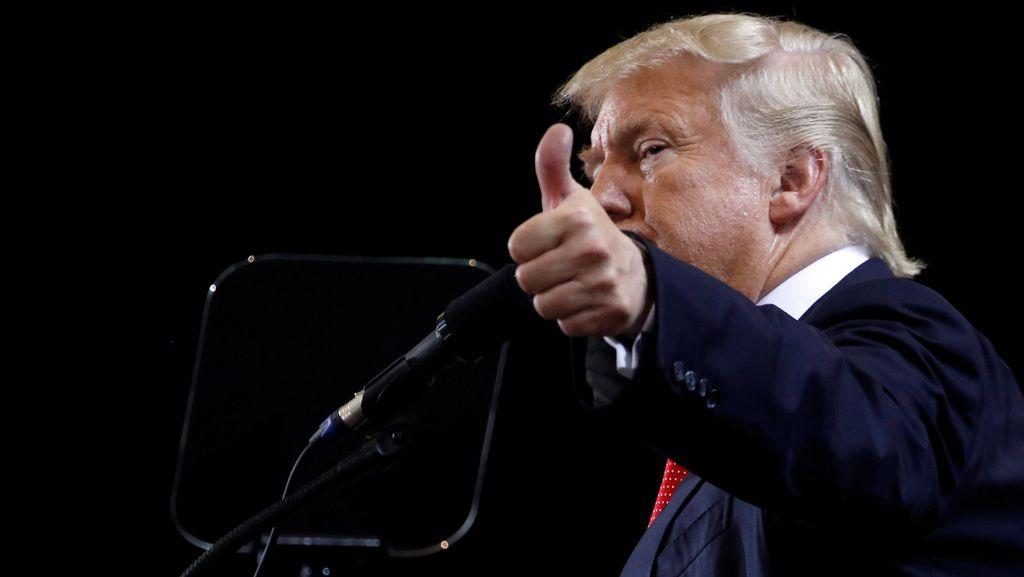 Sehari Usai Debat Capres AS, Donald Trump Mengklaim Galang Dana Rp 168 M