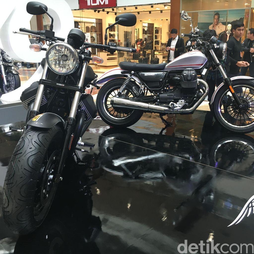 Gagahnya Moto Guzzi V9