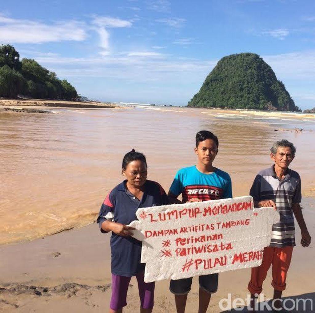 BLH Banyuwangi: Lumpur yang Menggenangi Pulau Merah Tanggung Jawab PT BSI