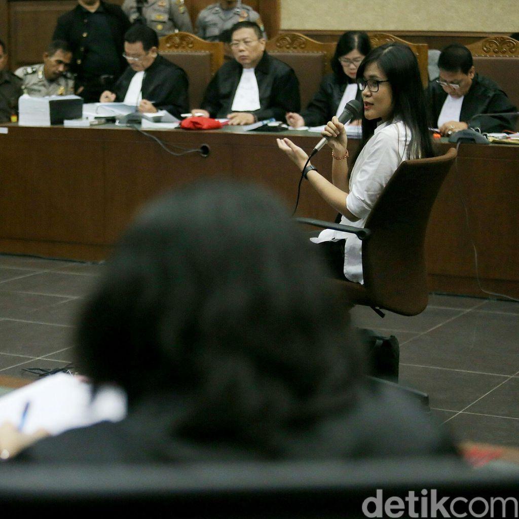 Ditanya Penyebab Mirna Meninggal, Jessica: Saya Juga Mempertanyakan Itu