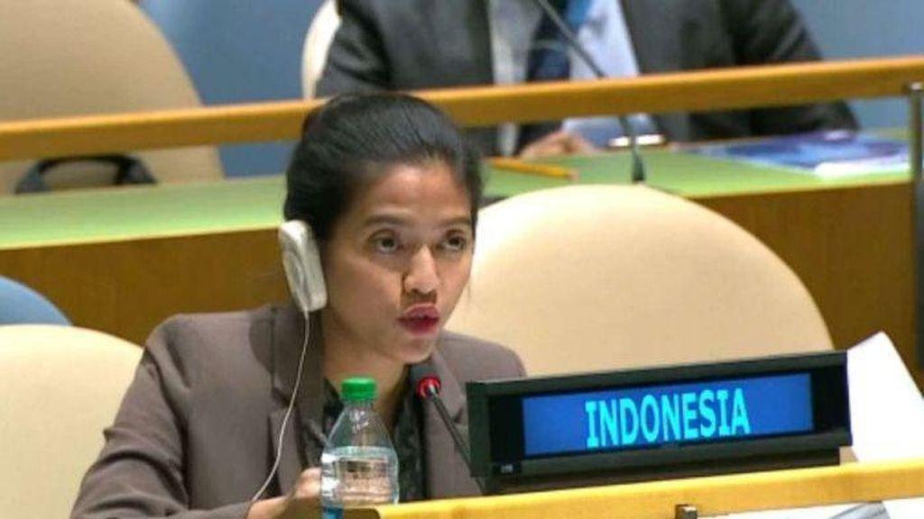Ini Pernyataan Keras RI yang Dibacakan Nara Masista di Sidang PBB
