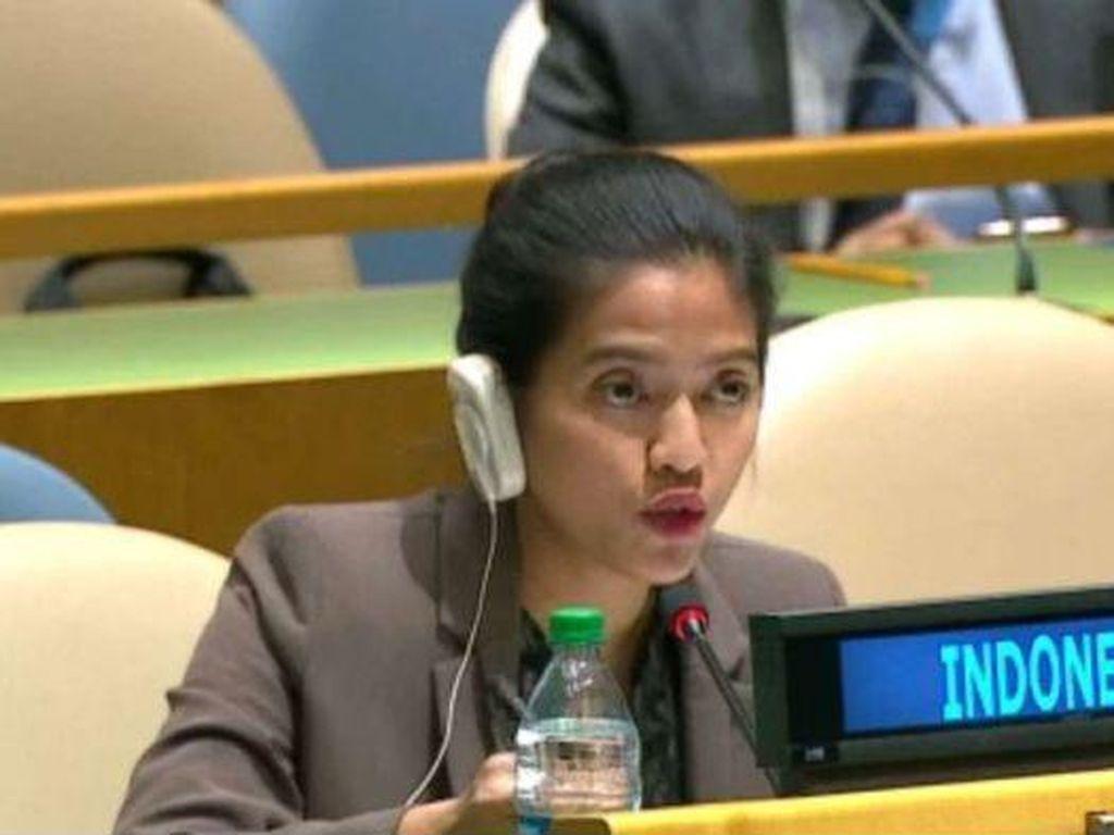 Bela Kedaulatan RI di PBB, Diplomat Muda Nara Rakhmatia Jadi Sorotan