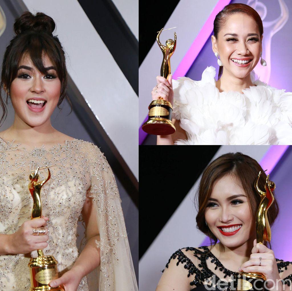 Para Wanita Cantik Pemenang AMI Awards 2016